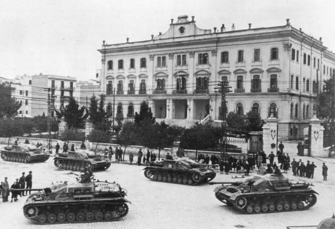 Thessaloniki of the WWII